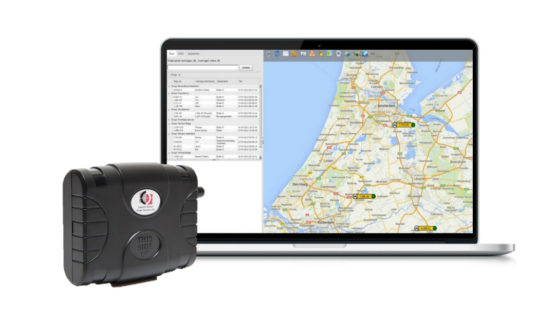 Fleet Complete software blackbox rittenregistratie
